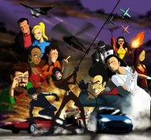 Delilah and Julius cast by EastCoastCanuck