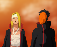 Deidara and Tobi: Not A Word by SractheNinja