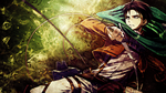 Shingeki no Kyojin Wallpaper - Rivaille / Levi by umi-no-mizu