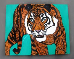 Tiger Tangle by MayhemHere