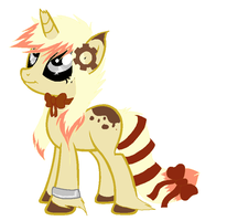 SteamPunk Pony Auction OPEN by SquidPup
