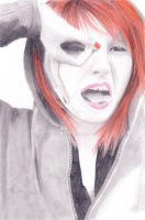 Hayley Williams Drawing by Narniakid