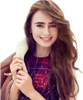 Lily Collins PNG by forr-yoouu