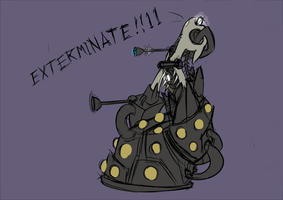 Dalek pon by Underpable