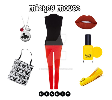 Mickey Mouse (Polyvore) by NauticalPudding