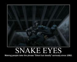 Snake Eyes by CrescentMoonDemon