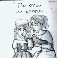 No one is alone by marbri