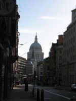 On the way to St. Paul's by BellJorienViola