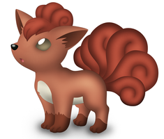Pokemon Revamps: Vulpix by Susyspider