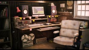 Sound Engineer Studio by Omessler