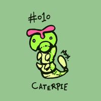 010 Caterpie by toadcroaker