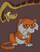Shere Khan and Friend by pmaestro