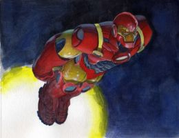 iron man color study by saltares