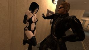 Wesker, you animal! by McGillminator