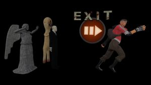 TF2 Spray - Slender Mod Exit by WCPsycho