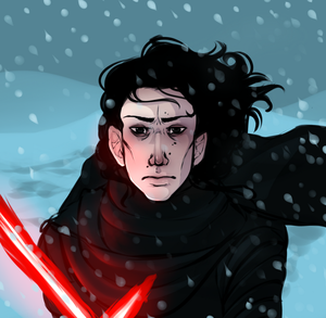 Kylo-Ren by CrimsonSnows