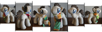 Long Scarfed Plush (For Sale, Edit: Sold) by weRDunfo