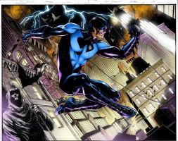 Nightwing page 02 by Prestegui