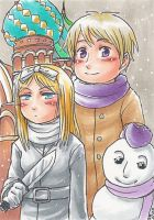 Ivan and Natalia Winter by sammich
