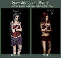 Before and after meme by MonicaHooda