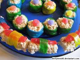 Candy Sushi by berlynnwohl