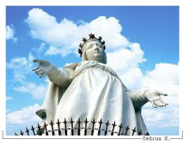 Our Lady of Lebanon by cedrus