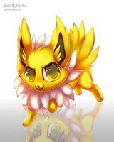 =Pokemon= Chibi Jolteon by LeoKatana