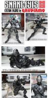 6' Snake-Eyes Custom Figure by gaudiamo