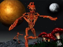 Lobster man from space by R0DrI90
