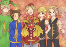 A Hetalia Chinese New Year by mosacd