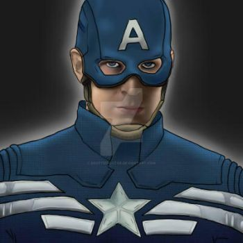 Captain America by ScottieDoctor