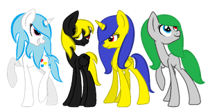 Me And My Friends by FioPonez