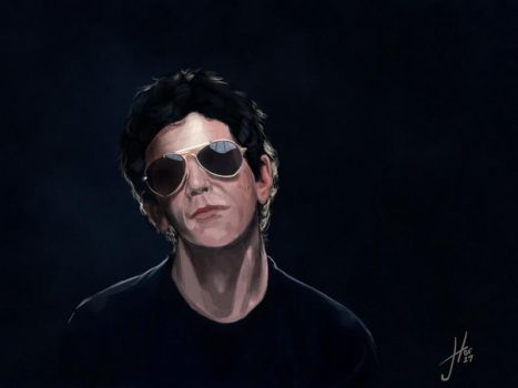 Lou Reed by thewalkingman