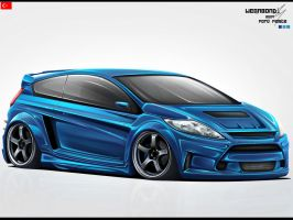 Ford Fiesta by wegabond