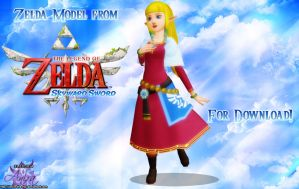 MMD Zelda (Skyward Sword) + Download by Anira-the-Fox