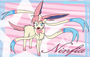 Ninfia (New Eeveelution) by Fennix-Cat