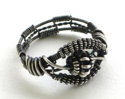 silver bali bead ring2 by annie-jewelry