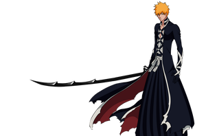 Ichigo New Bankai Render by Advance996