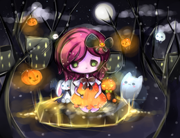 Pumpkins by mochatchi