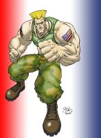 Guile Colors by mediocre-mind