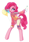 Balloons and Confetti by kamicheetah