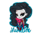 MarcelineChibi by BubbleSpeech