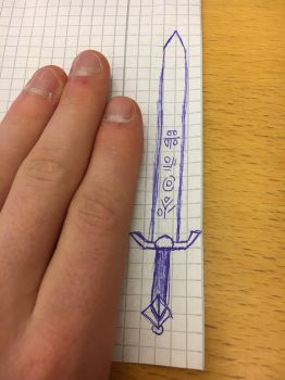 Bored 3/ sword concept  by ZonicBoom97