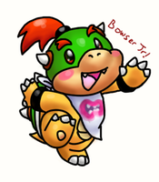 lil bowser jr by Foxeaf