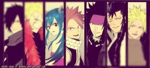 Seven Dragon Slayers. by seven-seas-of-sperms