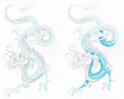 Chinese Dragon WIP part 2 by Coccis