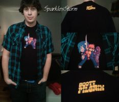 Scott Pilgrim T-shirt ! by SparklesStorm