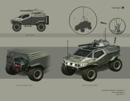 All Terrain Vehicle by DavidHakobian