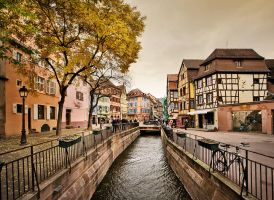 Streets of Colmar by justinblackphotos