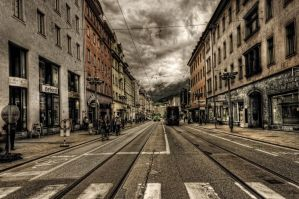 Summer in Innsbruck VII by Michela-Riva
